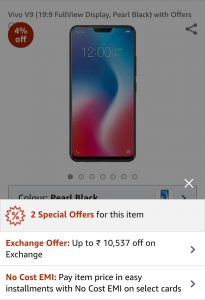 vivo-v9-exchange-amazon