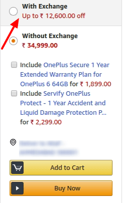 OnePlus 6 exchange offer