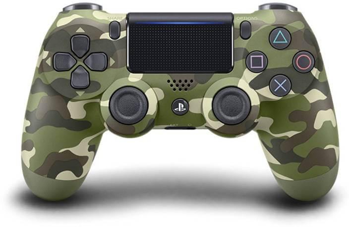 Sony PS4 Dualshock Controller - V2 (Green Cammo) Gamepad