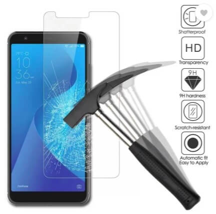Tempered Glass-Screen Guards for Asus Zenfone Max Pro M1