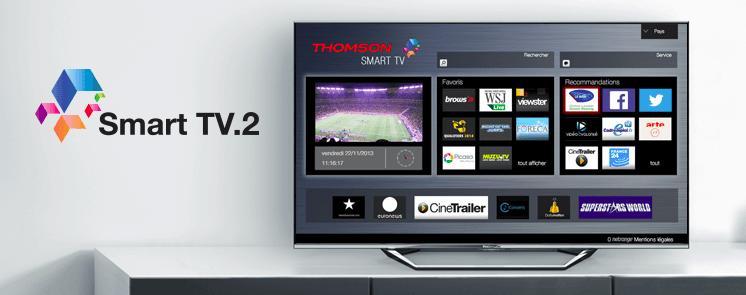 Thomson smart LED TV