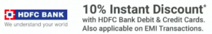 HDFC Bank Offers