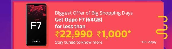 OPPO F7 Offer