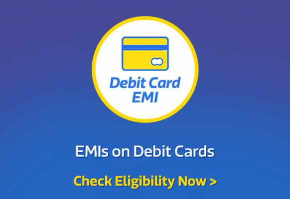 Debit Card EMI Offers