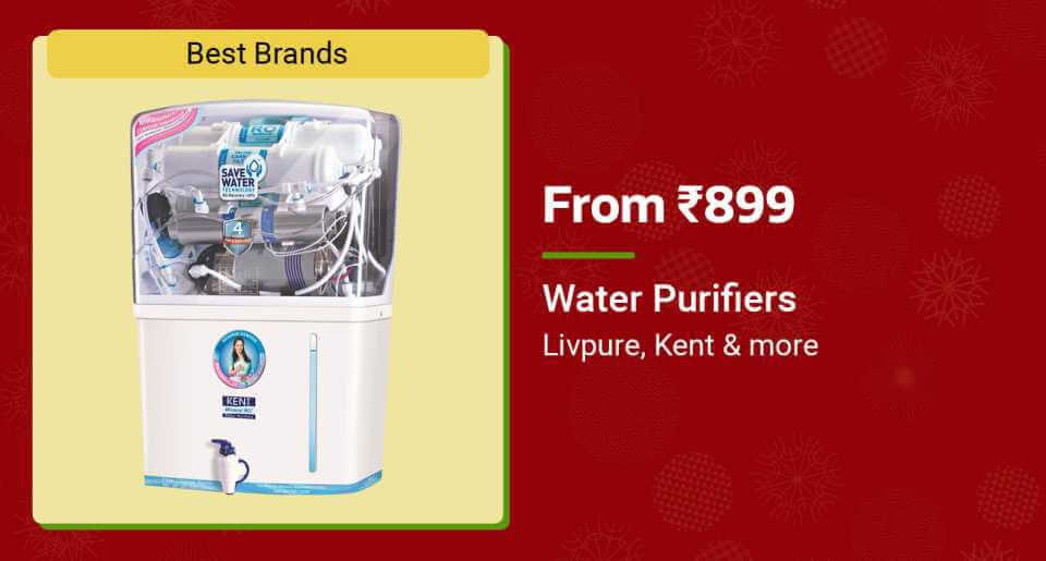 Water Purifiers Offer