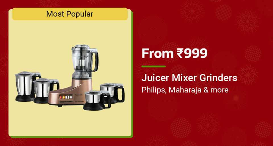 Juicer Mixer Grinder Offers