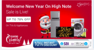 Christmas Offer on Electronics