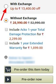 Vivo V15 Pro Exchange