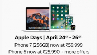 Apple Days April 24-26