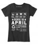April Birthday T Shirt coupon code