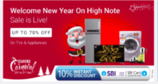 Top Christmas Offers for Eletronicns and Appliances on Flipkart 2018