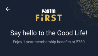 PayTM First Membership Subscription | How to register and benefits